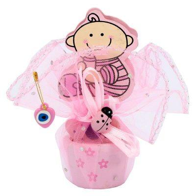Pembe Notluk Kız Bebek Şekeri